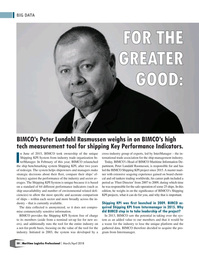 Maritime Logistics Professional Magazine, page 50,  Mar/Apr 2018