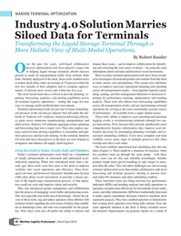 Maritime Logistics Professional Magazine, page 58,  Mar/Apr 2018