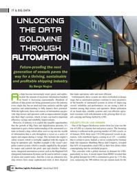 Maritime Logistics Professional Magazine, page 60,  Mar/Apr 2018