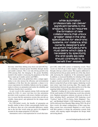 Maritime Logistics Professional Magazine, page 61,  Mar/Apr 2018