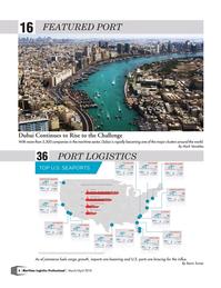 Maritime Logistics Professional Magazine, page 6,  Mar/Apr 2018