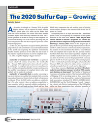 Maritime Logistics Professional Magazine, page 10,  May/Jun 2018