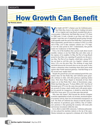Maritime Logistics Professional Magazine, page 12,  May/Jun 2018