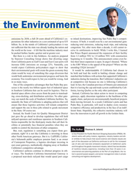 Maritime Logistics Professional Magazine, page 13,  May/Jun 2018