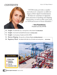 Maritime Logistics Professional Magazine, page 2,  May/Jun 2018