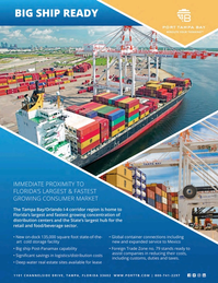 Maritime Logistics Professional Magazine, page 41,  May/Jun 2018