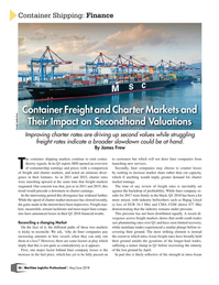 Maritime Logistics Professional Magazine, page 46,  May/Jun 2018