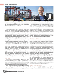 Maritime Logistics Professional Magazine, page 56,  May/Jun 2018