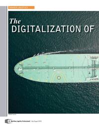 Maritime Logistics Professional Magazine, page 18,  Jul/Aug 2018