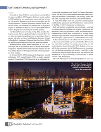 Maritime Logistics Professional Magazine, page 30,  Jul/Aug 2018