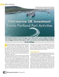 Maritime Logistics Professional Magazine, page 34,  Jul/Aug 2018