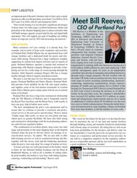 Maritime Logistics Professional Magazine, page 36,  Jul/Aug 2018