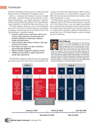 Maritime Logistics Professional Magazine, page 60,  Jul/Aug 2018