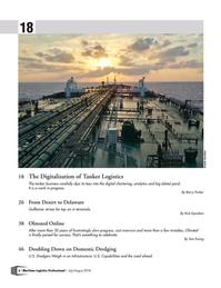 Maritime Logistics Professional Magazine, page 6,  Jul/Aug 2018