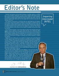 Maritime Logistics Professional Magazine, page 8,  Sep/Oct 2018