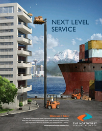 Maritime Logistics Professional Magazine, page 2nd Cover,  Sep/Oct 2018