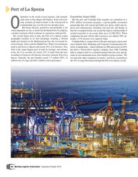 Maritime Logistics Professional Magazine, page 20,  Sep/Oct 2018