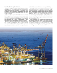 Maritime Logistics Professional Magazine, page 21,  Sep/Oct 2018