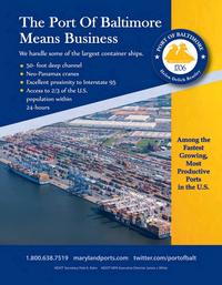 Maritime Logistics Professional Magazine, page 27,  Sep/Oct 2018