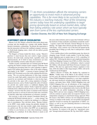 Maritime Logistics Professional Magazine, page 30,  Sep/Oct 2018