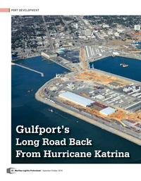 Maritime Logistics Professional Magazine, page 32,  Sep/Oct 2018