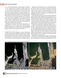 Maritime Logistics Professional Magazine, page 34,  Sep/Oct 2018