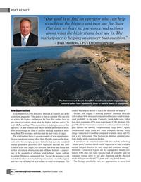 Maritime Logistics Professional Magazine, page 42,  Sep/Oct 2018