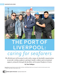 Maritime Logistics Professional Magazine, page 46,  Sep/Oct 2018