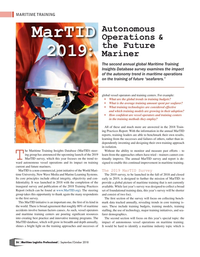 Maritime Logistics Professional Magazine, page 56,  Sep/Oct 2018