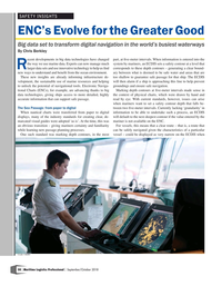 Maritime Logistics Professional Magazine, page 58,  Sep/Oct 2018