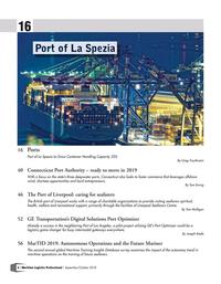 Maritime Logistics Professional Magazine, page 6,  Sep/Oct 2018