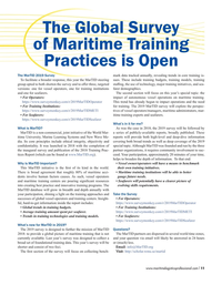 Maritime Logistics Professional Magazine, page 11,  Nov/Dec 2018