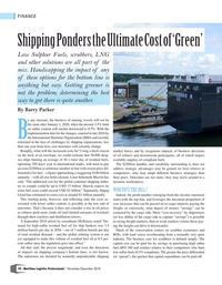Maritime Logistics Professional Magazine, page 18,  Nov/Dec 2018