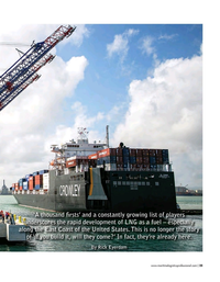Maritime Logistics Professional Magazine, page 25,  Nov/Dec 2018