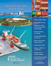 Maritime Logistics Professional Magazine, page 3,  Nov/Dec 2018