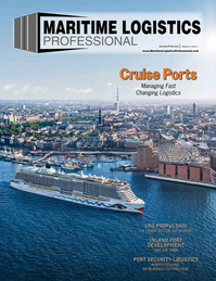Maritime Logistics Professional Magazine Cover Jan/Feb 2019 - Cruise Ports Annual