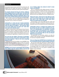 Maritime Logistics Professional Magazine, page 14,  Jan/Feb 2019