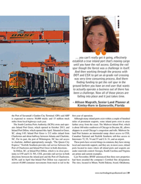 Maritime Logistics Professional Magazine, page 21,  Jan/Feb 2019