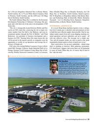 Maritime Logistics Professional Magazine, page 23,  Jan/Feb 2019