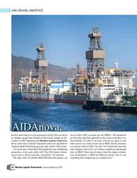 Maritime Logistics Professional Magazine, page 32,  Jan/Feb 2019