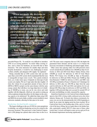 Maritime Logistics Professional Magazine, page 34,  Jan/Feb 2019
