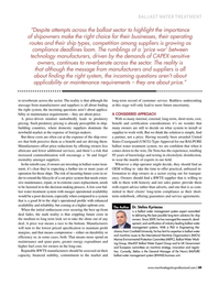 Maritime Logistics Professional Magazine, page 49,  Jan/Feb 2019