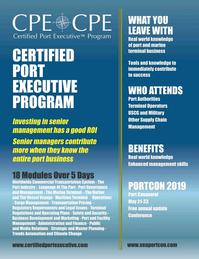 Maritime Logistics Professional Magazine, page 57,  Jan/Feb 2019