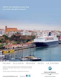 Maritime Logistics Professional Magazine, page 4th Cover,  Jan/Feb 2019