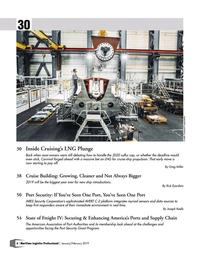 Maritime Logistics Professional Magazine, page 6,  Jan/Feb 2019