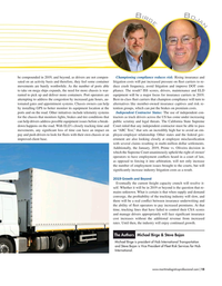 Maritime Logistics Professional Magazine, page 15,  Mar/Apr 2019