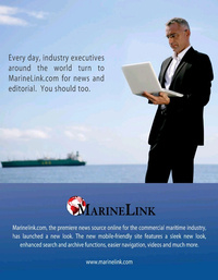 Maritime Logistics Professional Magazine, page 19,  Mar/Apr 2019