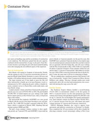 Maritime Logistics Professional Magazine, page 28,  Mar/Apr 2019