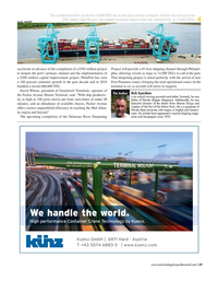 Maritime Logistics Professional Magazine, page 31,  Mar/Apr 2019