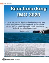 Maritime Logistics Professional Magazine, page 32,  Mar/Apr 2019